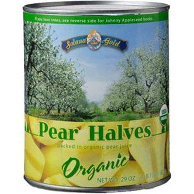Solana Gold Pear Halves, 15-Ounce (Pack of 6)