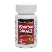 Mason Natural Sugar Free Ferrous Sulfate
