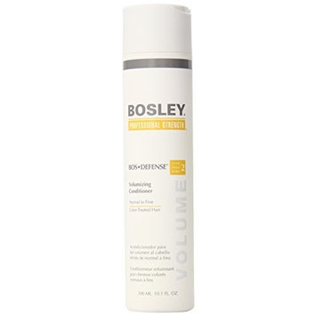 Bosley Bos-Defense Volumizing Conditioner, Normal To Fine Color-Treated Hair, 10.1 Ounce