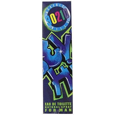 Beverly Hills 90210 By Spelling Enterprise For Men. Eau De Toilette Spray 4.2 Ounces