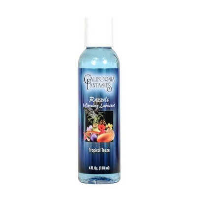 Razzels Tropical Teeze Flavored Lubricant 4.0 Oz.