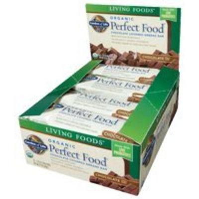 Garden of Life Organic Perfect Food Chocolate 64g Food Bars (12-pack)
