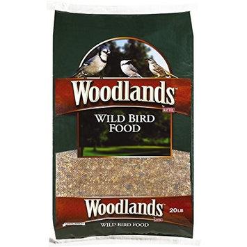 Kaytee Woodlands Wild Bird Food, 20-Pound