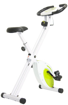 Body Flex Body Rider Folding Exercise Bike with Heart Rate Monitor