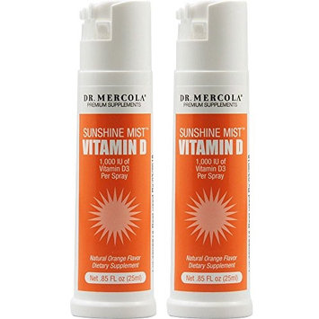 Dr. Mercola: Vitamin D Sunshine Mist, 0.85 oz