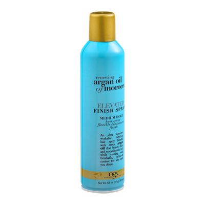 OGX Renewing Argan Oil Of Morocco Elevated Finish Spray Medium Hold