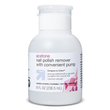 Up & up Acetone Nail Polish Remover with Convenient Pump