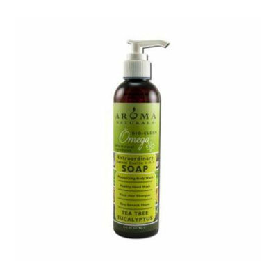 Aroma Naturals Castile Soap Tea Tree Eucalyptus 8 fl oz
