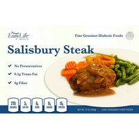 EasyLife Diabetic Meals Salisbury Steak with Mushroom Gravy