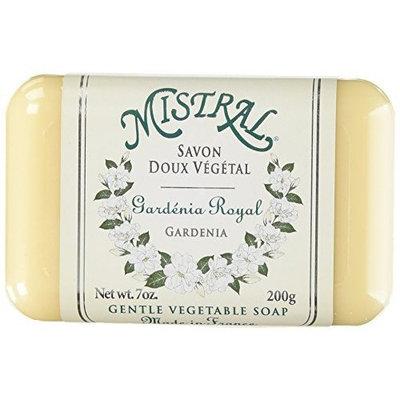 Mistral Shea Butter Soap, Gardenia, 7-Ounce Bar
