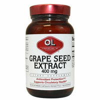 Olympian Labs Grape Seed Naturopathic 400 mg 100 Capsules