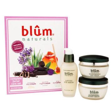 Blum Naturals Complete Facial Care Set, 1 set