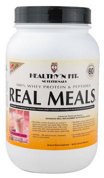 Healthy'N Fit Nutritionals Real Meals Strawberry Shake 2.09 lbs