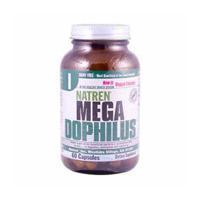 Natren Mega Dophilus Dairy Free 60 Capsules