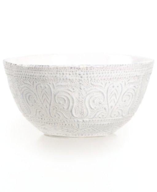 Maison Versailles Blanc Colette Cereal Bowl