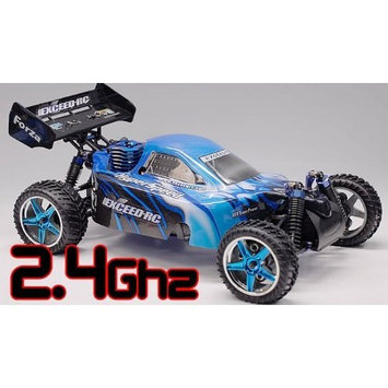 Badia 1/10 2.4Ghz Exceed RC Forza .18 Engine RTR Nitro Powered Off Road Buggy Storm Blue