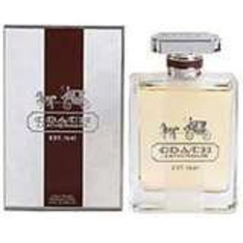 COACH Leatherware Parfum Spray for Men, 3.4 Ounce