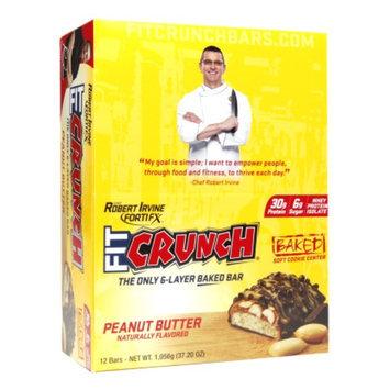 FortiFx Chef Robert Irvine Fit Crunch Bar Peanut Butter