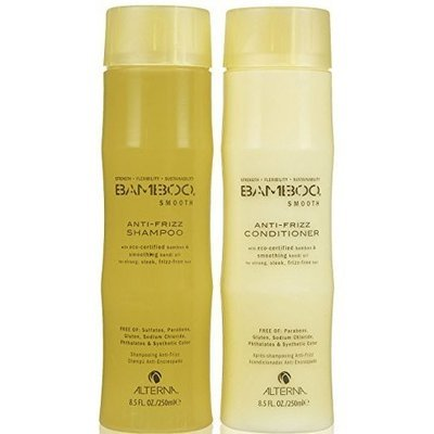 ALTERNA BAMBOO Smooth Shampoo & Conditioner Set (8.5 Oz Each)