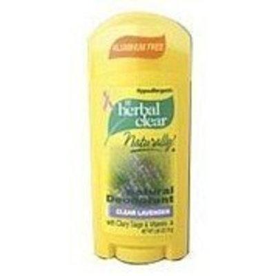 Herbal Clear Deodorant Stick - Lavender (2.65 oz)