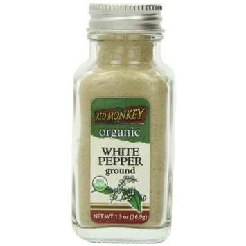 Red Monkey Foods White Pepper, Ground, 1.3-Ounce Bottles (Pack of 3)