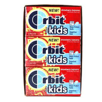 Orbit For Kids Strawberry Banana, 12 pk