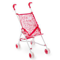 Toys 'r' Us You & Me Umbrella Stroller for Dolls - Pink Dot
