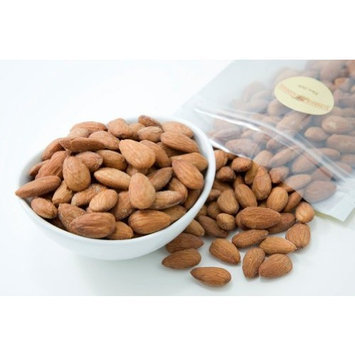 Superior Nut Company Unsalted Dry Roasted Almonds (1 Pound Bag)