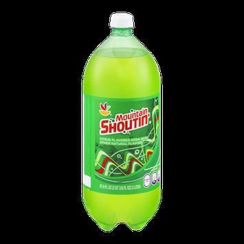 Ahold Mountain Shoutin' Citrus Flavored Soda
