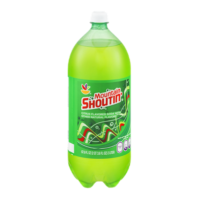 Ahold Mountain Shoutin' Citrus Flavored Soda