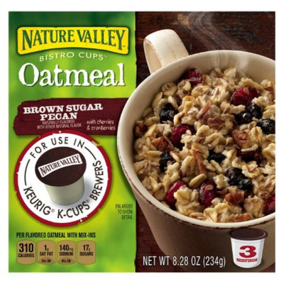 Nature Valley Bistro Cups Brown Sugar Pecan Oatmeal 8.28 oz