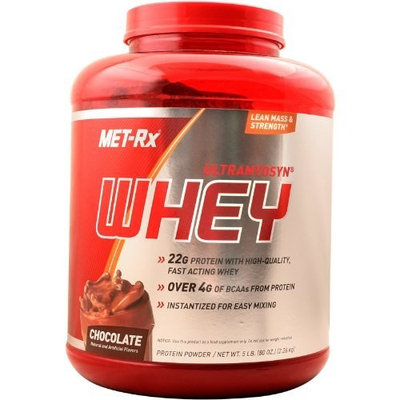 MET-Rx Ultramyosyn Whey, Chocolate, 5 Pounds
