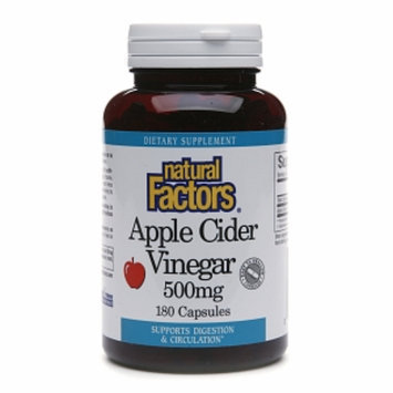 Natural Factors Apple Cider Vinegar 500mg