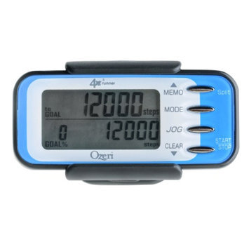 Ozeri 4x3runner Digital Tri-Axis 3D Pedometer with Dual Walking & Running Modes