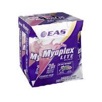 EAS Myoplex Lite Strawberry Cream Shakes - 4 CT