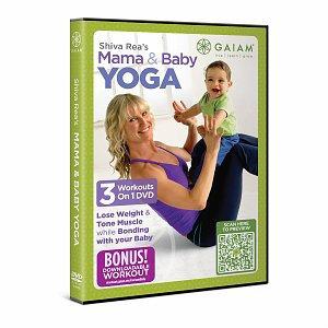 Gaiam Yoga Shiva Rea Mama & Baby Yoga DVD