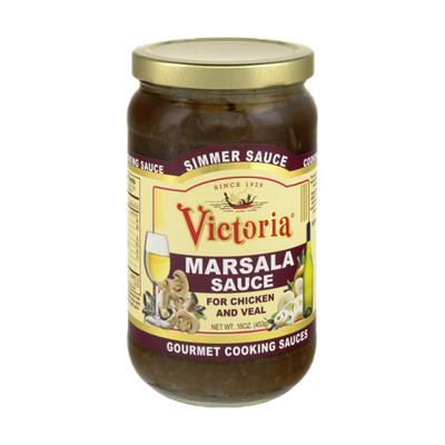 Victoria Marsala Sauce for Chicken and Veal