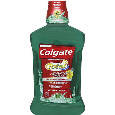 Colgate Total Advanced Pro-Shield Spearmint Surge Mouthwash, 50.7 fl oz
