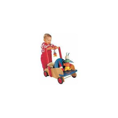 Haba USA 1646 Walker Wagon With Silicone Wheel Treads