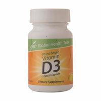 Global Health Trax Plant Based Vitamin D3 1000 IU