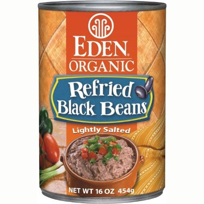Eden Organic Refried Black Beans, 16-Ounce Cans (Pack of 12)