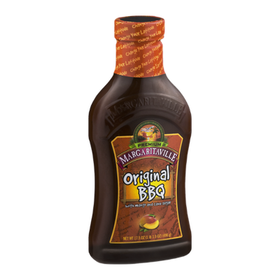 Premium Margaritaville Original BBQ Sauce with Mango and Cane Sugar