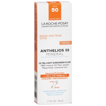 La Roche-Posay Anthelios Tinted Mineral Ultra Light Sunscreen Fluid
