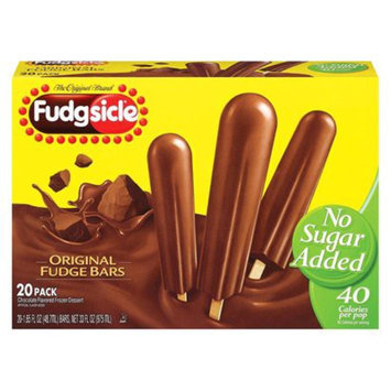 Popsicle No Sugar Added Fudgesicles 20 ct