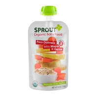Sprout Pear Oatmeal, Maple & Carrot, 4.5 oz