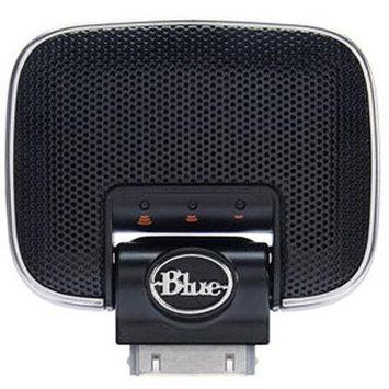 Blue Microphones Mikey Digital Recorder - Microphone for Apple iPhone/iPod/iPad, 3.5mm Stereo Input Port, Sensitivit