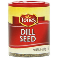Tone's Mini's Dill Seed, 0.55 Ounce (Pack of 6)