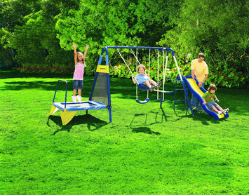 Sportspower Limited Sportspower Jump N Swing Metal Swing Set