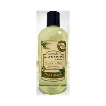 A La Maison 843987 Shower Gel Rosemary Mint 16.9 Oz