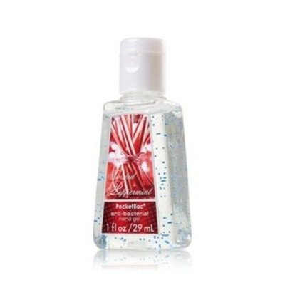 Bath Body Works Bath & Body Works Twisted Peppermint Anit-bacterial Hand Gel Pocketbac 1 Fl Oz